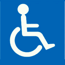 Accès handicapés facilités