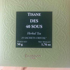 Tisane des 40 SOUS Dammann frères