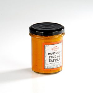 Moutarde fine au safran